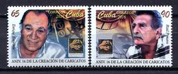 Cuba 2016 / Caricatos Cinema Dance Theater MNH Baile Teatro Cine / Cu2205  31 - Teatro