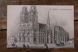 45, ORLEANS, LA CATHEDRALE EN 1835, 1949 - Orleans