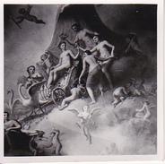 Foto Deckengemälde Im Pavillon A. Schlossteich - Dt. Maler - Schloss Gatschina - Russland - Juni 1943- 5,5*5,5cm (27041) - Orte
