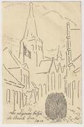 """S5853 - Baarle-Duc 1915 - Les Religieuses Belges """" Dessin"""" - Baarle-Hertog"""
