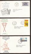 Sobre Primer Dia CANADA (3 Sobres) - First Day Letter Año/year 1967 Y 1968 - Cartas