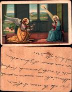 4809 A )immaginetta   Annunciazione Dell'angelo A Maria - Vergine Maria E Madonne
