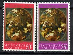 1968 - ST.KITTS-NEVIS-ANGUILLA - Catg.. Mi. 185+187 - NH - (I-SRA3207.5) - St.Kitts E Nevis ( 1983-...)