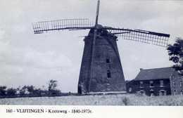 VLIJTINGEN Bij Riemst (Limburg) - Molen/moulin - Blauwe Prentkaart Ons Molenheem Van De Verdwenen Molen Simenon - Riemst