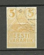 Estland Estonia Estonie 1919 Möwe Seagull Michel 5 O