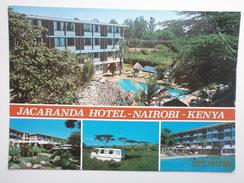 Postcard Jacaranda Hotel Chiromo Road Westlands Nairobi Kenya My Ref B2160 - Kenia