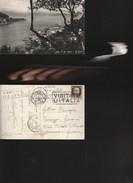 9930) LA SPEZIA GOLFO LE GRAZIE VIAGGIATA 1940 PIEGA - La Spezia