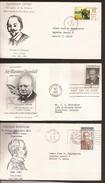 Sobre Primer Dia CANADA (3 Sobres) - First Day Letter Año/year 1965 Y 1969 - Cartas