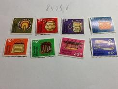 83296) Tokelau-1971-serie Corrente-artigianato -n. 25-52- Nuovi** - Tokelau