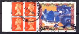 Great Britain 1990, Definitive Queen Elisabeth II With Margin: Dragon & Junk (o), Used - 1952-.... (Elizabeth II)