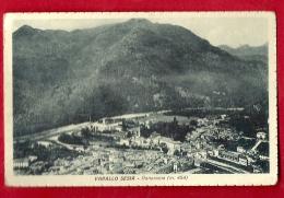 PRR-10 Varallo Sesia Panorama. Viaggiatta Verso La Svizzera In 1954¨. No éditeur : 2061, Pas De Nom. - Italia