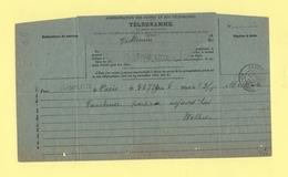 Champlitte - Haute Saone - Telegramme - 23-6-1913 - Storia Postale