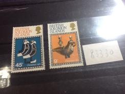 83330) Isole Salomone -1971--natale-n.207-8-nuovi** - Isole Salomone (1978-...)