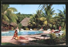 CPA Tahiti, Hotel, La Piscine, The Swimming Pool - Tahiti