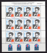 España 1998. Minipliego 59 Centenario Federico Garcia Lorca. Ed 3549. MNH. **. - 1931-Heute: 2. Rep. - ... Juan Carlos I