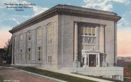 Seattle Washington, Scottish Rite Temple Capital Hill Broadway And Harvard Streets, C1910s/20s Vintage Postcard - Seattle