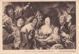 MUSEE DU LOUVRE - Jordaens - Le Roi Boit - Museum
