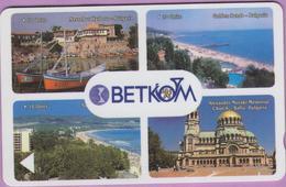 Télécarte Bulgarie °° Betkom 5 Units – 4 Photos RV - Bulgarie