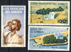 Costa Dei Somali Posta Aerea 1947 Serie N. 20-22 MNH Cat. € 42 - Unused Stamps