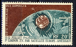 Costa Dei Somali Posta Aerea 1963 N. 33 F. 20 MNH Cat. € 1.10 - Unused Stamps