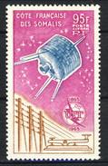 Costa Dei Somali Posta Aerea 1965 N. 42 F. 95 MNH Cat. € 20 - Unused Stamps