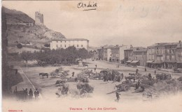 07 - Tournon -  Place Des Graviers - Tournon