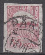ESTONIA       SCOTT NO.  41   USED      YEAR   1920 - Estonia