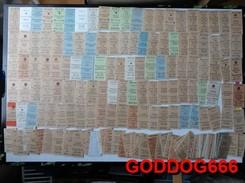 Old Edmondson Tickets Before 1989 CZECHOSLOWAKIA Station POLICKA 172 Pcs , 1-112 Kr, II.clas - Europe