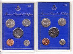 BELGIQUE FDC 1974 M/MS5 FR+NL, Tirage: 19000/20608. (AP6) - 1951-1993: Baudouin I