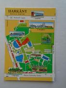 D145985  Map Carte  Karte -  Hungary  HARKANY - Landkaarten