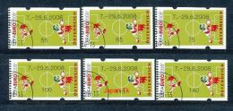 ÖSTERREICH Automatenmarken Mi.Nr. 11.1 Maskottchen Trix Und Flix Auf Fußballplatz - 7-29.6.2008  - Used - ATM - Frama (Verschlussmarken)