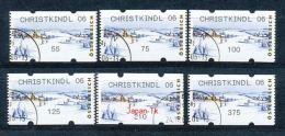 ÖSTERREICH Automatenmarken Mi.Nr. 9.1 Winterlandschaft - Christkindl 06  - Used - ATM - Frama (Verschlussmarken)