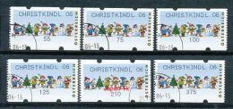 ÖSTERREICH Automatenmarken Mi.Nr. 8.1 Spielende Kinder Im Schnee - Christkindl 06  - Used - ATM - Frama (Verschlussmarken)