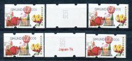 ÖSTERREICH Automatenmarken Mi.Nr. 7.1 Tulpen  -GMUNDEN 2006- Used - ATM - Frama (Verschlussmarken)