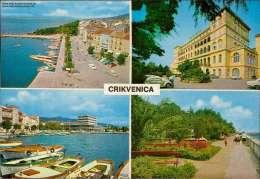 Crikvenica  Verschiedene Ansichten Mehrbildkarte - Jugoslawien