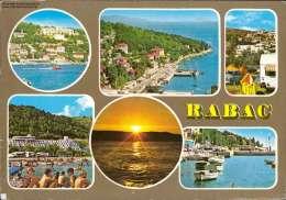 Rabac Verschiedene Ansichten Mehrbildkarte - Jugoslawien
