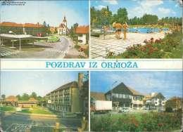 Pozdrav Iz Ormoza  Verschiedene Ansichten Mehrbildkarte - Jugoslawien