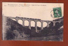 1 Cpa Viaduc De La Selle  Train - Gap