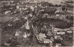 Thematiques 24 Dordogne La Force Vue Générale Aerienne Datée Main 09 12 1955 - Autres Communes