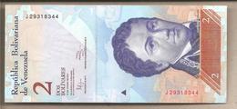 Venezuela - Banconota Non Circolata FdS Da 2 Bolivares - 2012 - Venezuela