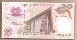 Papua Nuova Guinea - Banconota Non Circolata FdS Da 20 Kina - 2008 - Papua Nuova Guinea