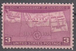 United States     Scott No   858     Mnh      Year   1939 - Neufs