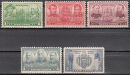 UNITED STATES      SCOTT NO   790-94      MNH    YEAR   1936 - Unused Stamps