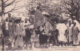 Afrique  Occidentale Française -- Sénégal -- Un Chef Ouolof - Sénégal
