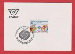 Autriche --  1 Er Jour --  21/1/1985 --  Nordische Ski Weltmeister - FDC