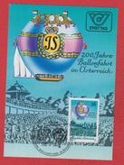 Autriche --  1 Er Jour --  1985 --  200 Jahre Ballonfahrt In Osterreich - Cartes-Maximum (CM)