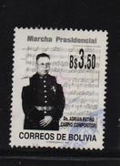 Bolivia 1998, Music, March, Minr 1371, Vfu. Cv 3 Euro - Bolivia