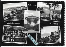 Campania-castellammare Di Stabia Vedute Citta'saluti Da Castellammare Anni/50 - Castellammare Di Stabia