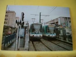 TRAIN 5224 - TIRAGE 100 EXEMPLAIRES - VUE N° 01/09 - SERIE DE 9 CARTES SUR LES TRAMWAYS DE LA SEINE SAINT DENIS 93 - Tram