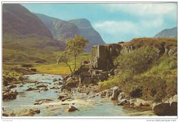 Scozia Argyllshire The River Coe And Three Sisters, Glen Coe. - Argyllshire